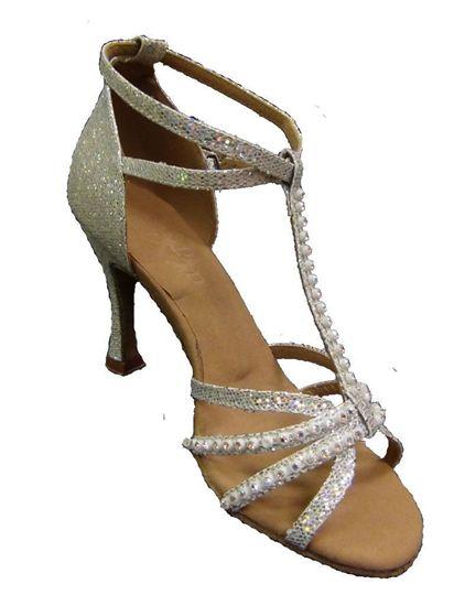 Latin Dance Shoe - Shakira Silver