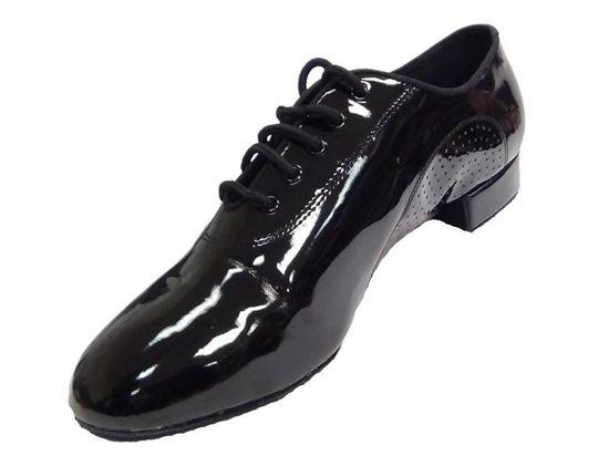 Men Ballroom Dance Shoe Enzo Patent leather