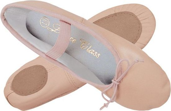 Adult Pink Leather Ballet Shoe