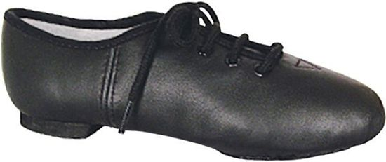 Child black jazz shoe