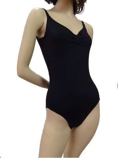 Adult black camisole leotard