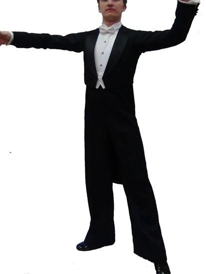 Classic Ballroom Dance Tailsuit