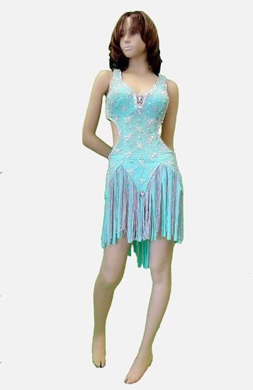 Mint Latin Dress