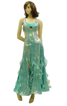 Poseidon Treasure Ballroom Gown