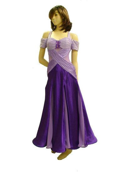 Picture of Lilac Ruched Smooth Gown