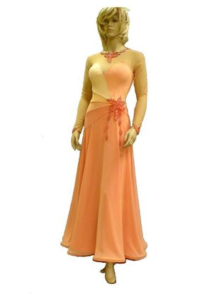 Picture of Coral Ballroom Gown