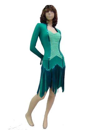 Imagen de Jade Latin Dress