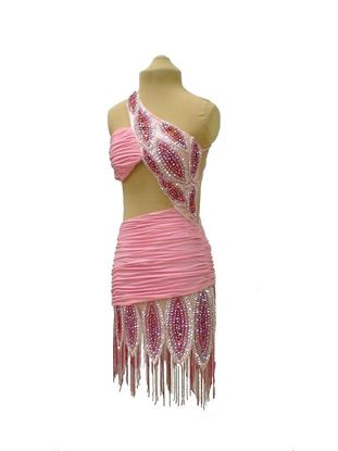 Imagen de Pink Flamingo Latin Dress