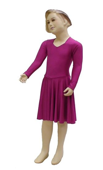 Imagen de Basic pre-Teen Syllabus Dress with Sleeves