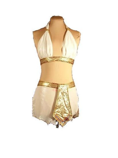 Picture of Egyptian Goddess Latin Dress