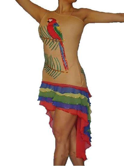 Imagen de Tropical Paradise Latin Dress