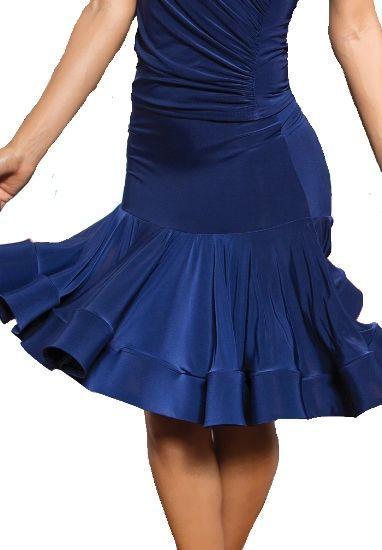 Picture of Short Crinoline Tailed Skirt - blue