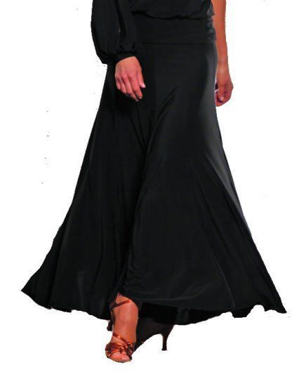 Picture of 8 Panel Long Simple Skirt