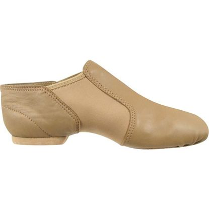 Child caramel jazz dance boot