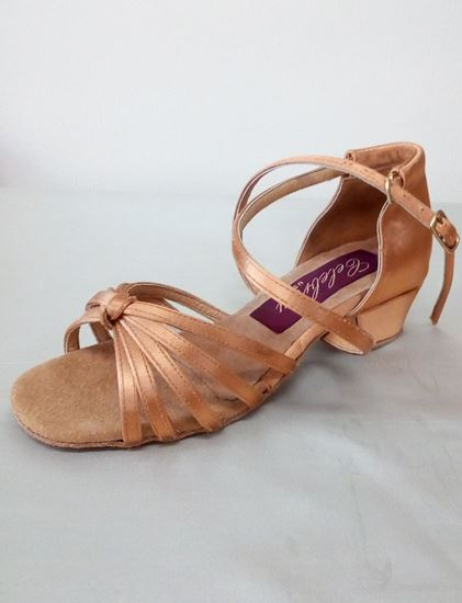 clearance dance shoes - Sasha with block heel