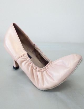 Clearance dance shoes in Houston -Sharon with elastic