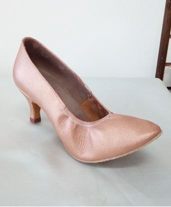 Clearance dance shoes in Houston -Ella tan leather