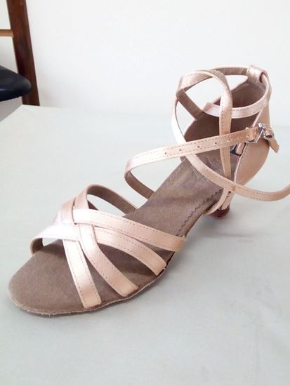 Clearance dance shoes in Houston -Jenny double strap