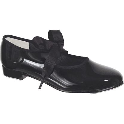 Child Basic Black Patent Tap Dance Shoe in Houston and Sugar Land