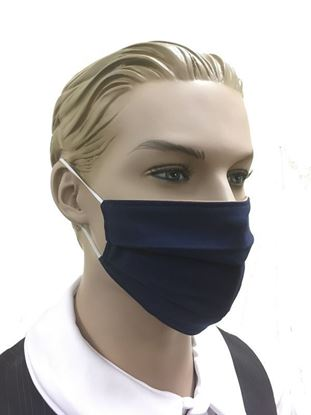 coronavirus Fashion Face Mask (3-layer) -blue
