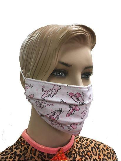 Ballet Shoes coronavirus Fashion Face Mask (3-layer)