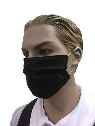 coronavirus Fashion Face Mask (3-layer) -black