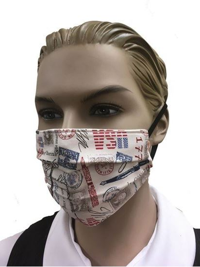 coronavirus Fashion Face Mask (3-layer) - Declaration of Independence