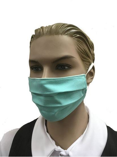 coronavirus Fashion Face Mask (3-layer) -Sea Foam