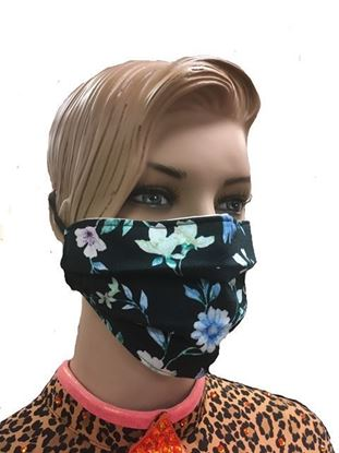 coronavirus Fashion Face Mask (3-layer) -Friendly Floral