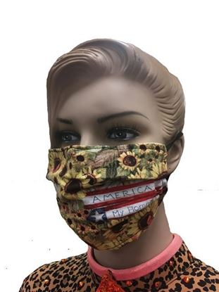Home Sweet Home coronavirus Fashion Face Mask (3-layer)