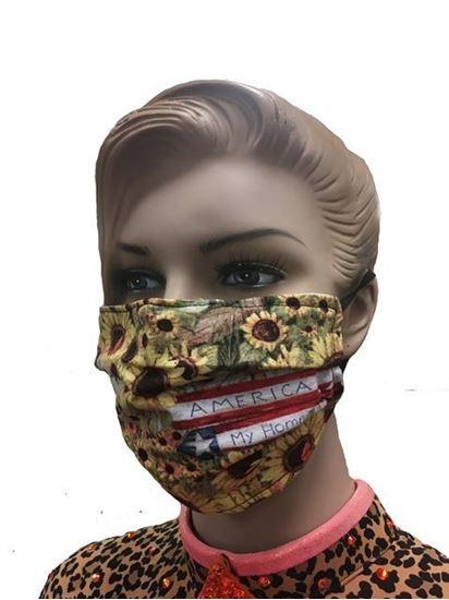 Home Sweet Home coronavirus Fashion Face Mask (3-layer)