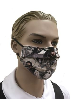 Pirates of the Carribean  coronavirus Fashion Face Mask (3-layer)