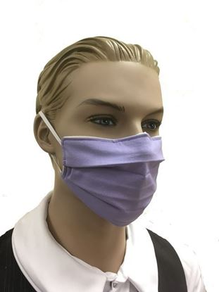 Light Purple coronavirus Fashion Face Mask (3-layer)