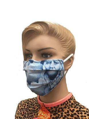 coronavirus Fashion Face Mask (3-layer) Blue Spirit Clouds