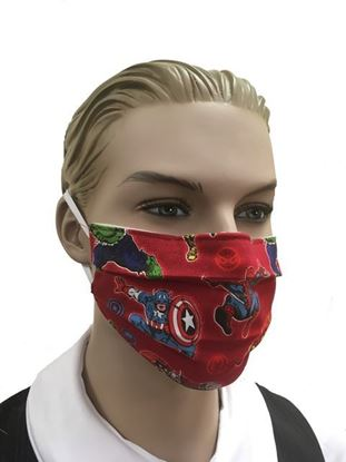 Marvel Superheroes- coronavirus Fashion Face Mask (3-layer)
