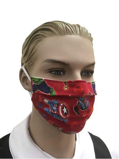 Marvel Superheroes- coronavirus Fashion Face Mask (3-layer)