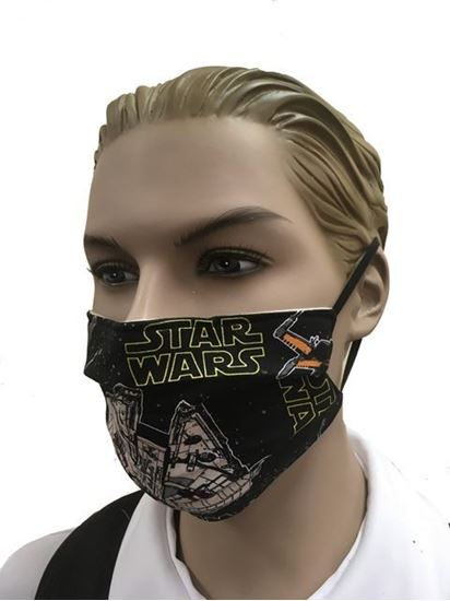 Star Wars- coronavirus Fashion Face Mask (3-layer)
