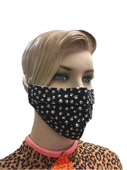 COVID-19 Coronavirus Fashion Face Mask Polka Dot Paws