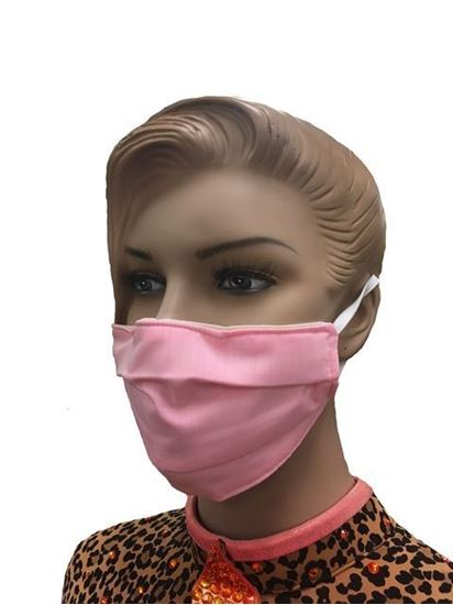 COVID-19 Coronavirus Fashion Face Mask Delicate Pink