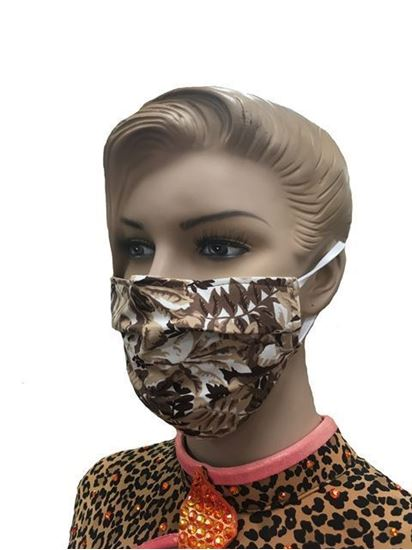 COVID-19 Coronavirus Fashion Face Mask Camouflage Leaves