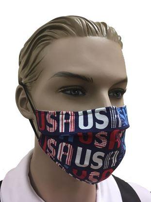 COVID-19 Coronavirus Fashion Face Mask American Pride