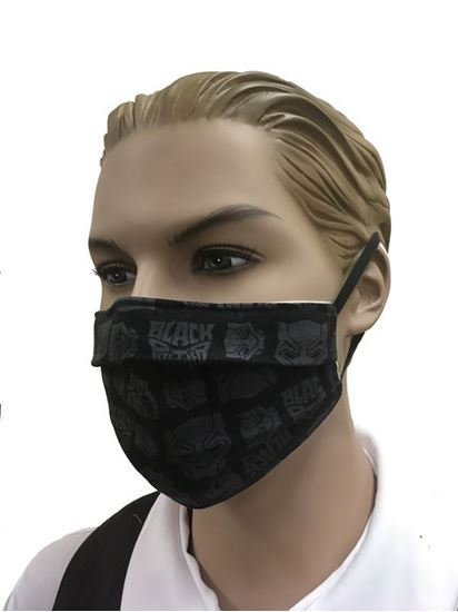 COVID-19 Coronavirus Fashion Face Mask Black Panther