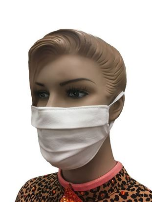 coronavirus Fashion Face Mask (3-layer) -white