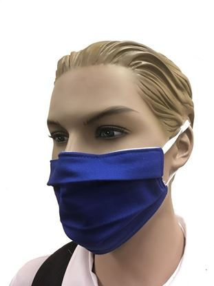 COVID-19 Coronavirus Fashion Face Mask Royal Blue