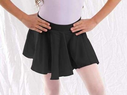 Girl Black Ballet Dance Skirt in Houston and Sugar Land