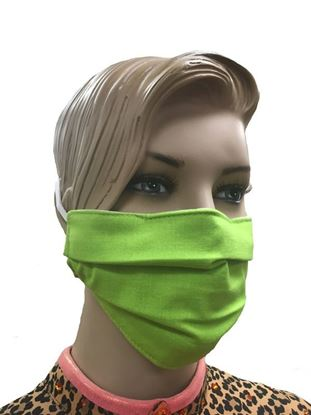 coronavirus Fashion Face Mask (3-layer) - Apple Green
