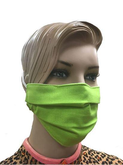 coronavirus Fashion Face Mask (3-layer) - Apple Green