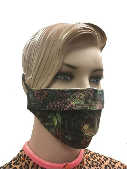 COVID-19 Coronavirus Fashion Face Mask Pinecones