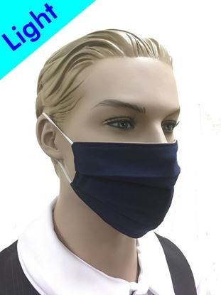 Light Reusable Coronavirus Fashion Face Mask (Blue)