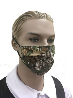 Reusable 3-layer Coronavirus Fashion Face Mask (Real Tree Camouflage)